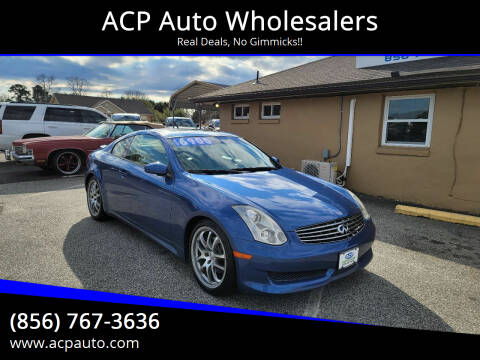 2006 Infiniti G35 for sale at ACP Auto Wholesalers in Berlin NJ