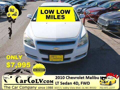 2010 Chevrolet Malibu for sale at The Car Company in Las Vegas NV