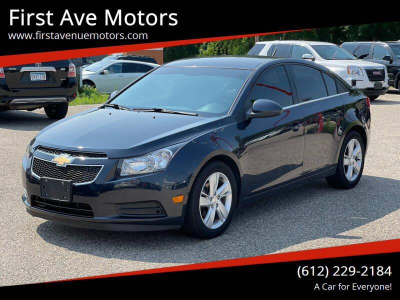 2014 Chevrolet Cruze for sale at First Ave Motors in Shakopee MN