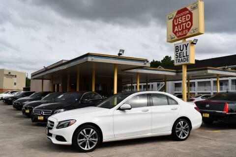 2015 Mercedes-Benz C-Class for sale at Houston Used Auto Sales in Houston TX