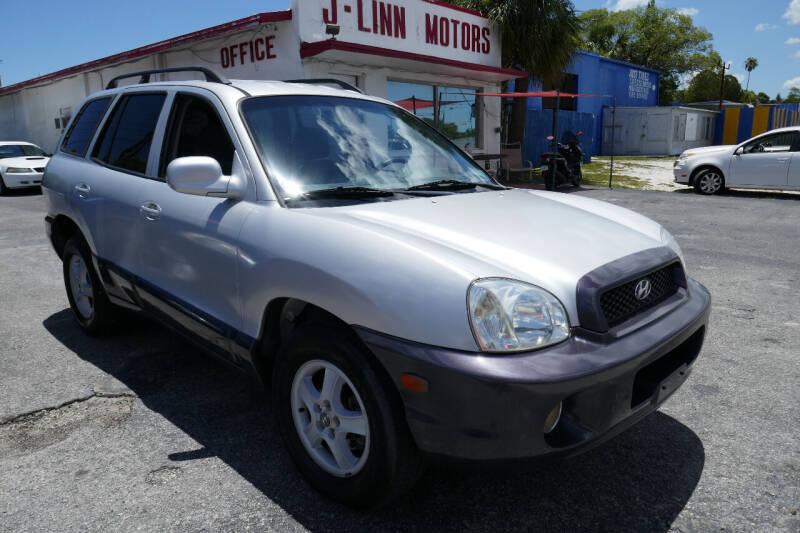 2003 Hyundai Santa Fe for sale at J Linn Motors in Clearwater FL
