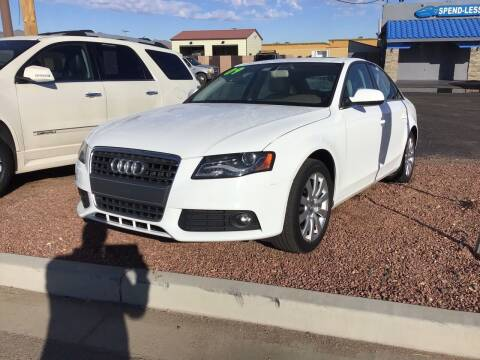 2010 Audi A4 for sale at SPEND-LESS AUTO in Kingman AZ