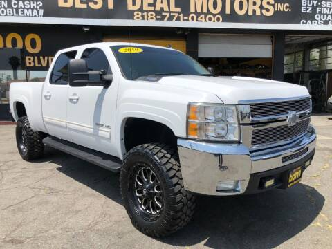 2010 Chevrolet Silverado 2500HD for sale at BEST DEAL MOTORS  INC. CARS AND TRUCKS FOR SALE in Sun Valley CA