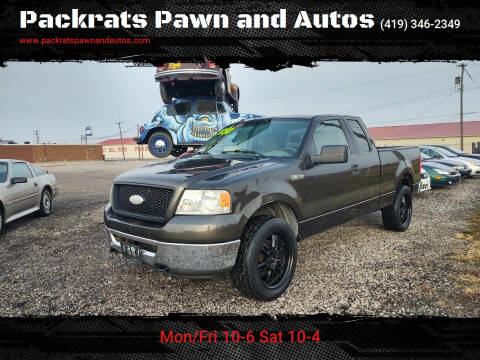 2006 Ford F-150 for sale at Packrats Pawn and Autos in Defiance OH