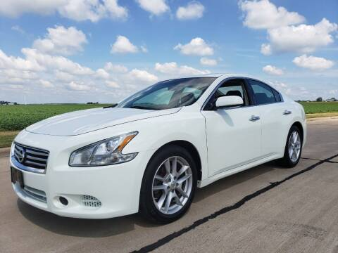 2014 Nissan Maxima for sale at Tumbleson Automotive in Kewanee IL