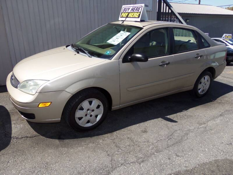 2006 Ford Focus for sale at Fulmer Auto Cycle Sales - Fulmer Auto Sales in Easton PA
