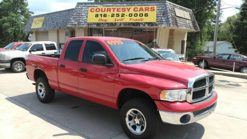 2005 Dodge Ram Pickup 1500 for sale at Courtesy Cars in Independence MO