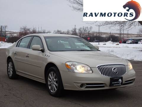 2011 Buick Lucerne for sale at RAVMOTORS in Burnsville MN