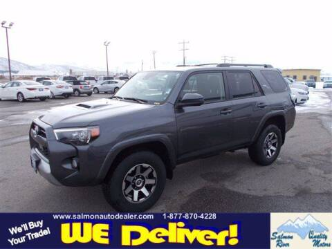 2020 Toyota 4Runner for sale at QUALITY MOTORS in Salmon ID