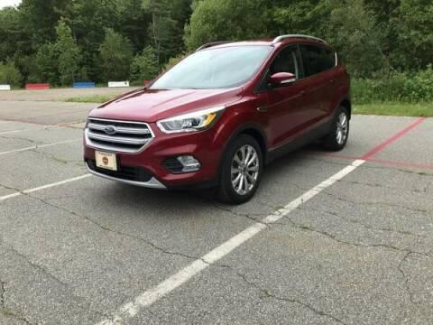 2017 Ford Escape for sale at BORGES AUTO CENTER, INC. in Taunton MA