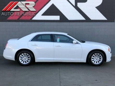 2013 Chrysler 300 for sale at Auto Republic Fullerton in Fullerton CA