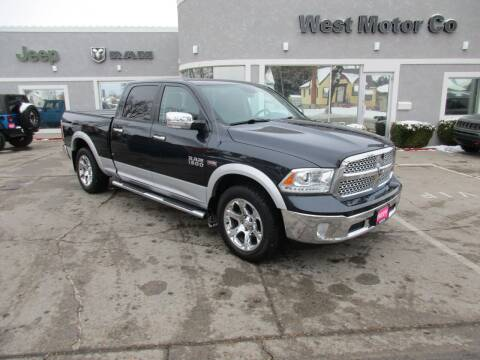 2013 RAM Ram Pickup 1500 for sale at West Motor Company in Hyde Park UT