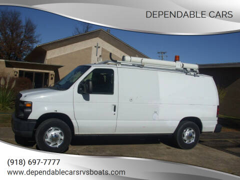 2011 Ford E-Series Cargo for sale at DEPENDABLE CARS in Mannford OK