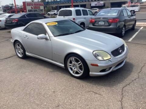 2004 Mercedes-Benz SLK for sale at ALMOST NEW AUTO RENTALS & SALES in Mesa AZ