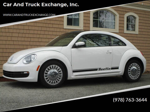 2013 Volkswagen Beetle for sale at Car and Truck Exchange, Inc. in Rowley MA