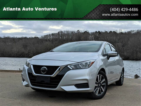 2020 Nissan Versa for sale at Atlanta Auto Ventures in Roswell GA