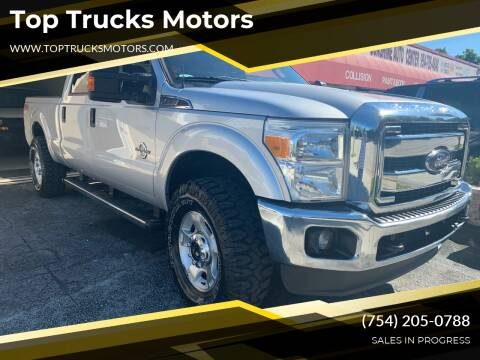 2016 Ford F-250 Super Duty for sale at Top Trucks Motors in Pompano Beach FL