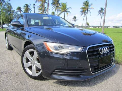 2012 Audi A6 for sale at FLORIDACARSTOGO in West Palm Beach FL