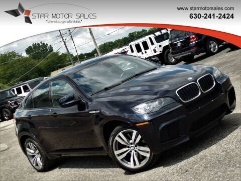 2012 BMW X6 M for sale at Star Motor Sales in Downers Grove IL