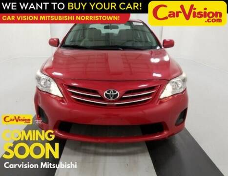 2013 Toyota Corolla for sale at Car Vision Mitsubishi Norristown in Norristown PA
