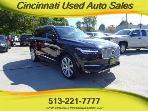 2018 Volvo XC90 for sale at Cincinnati Used Auto Sales in Cincinnati OH