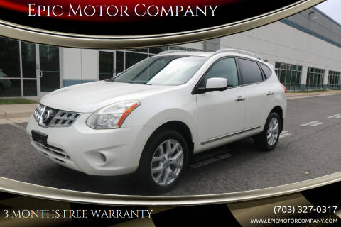 2013 Nissan Rogue for sale at Epic Motor Company in Chantilly VA