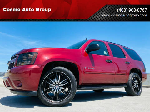 2008 Chevrolet Tahoe for sale at Cosmo Auto Group in San Jose CA