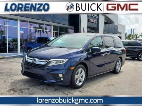 2019 Honda Odyssey for sale at Lorenzo Buick GMC in Miami FL