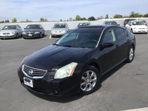 2008 Nissan Maxima for sale at My Three Sons Auto Sales in Sacramento CA