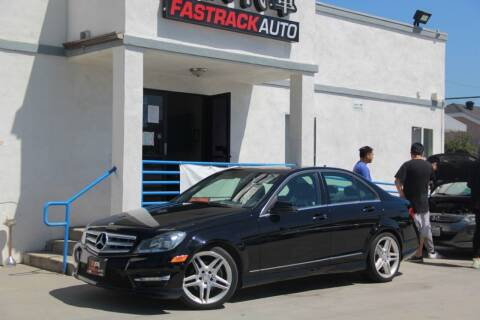 2013 Mercedes-Benz C-Class for sale at Fastrack Auto Inc in Rosemead CA