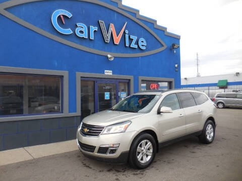 2014 Chevrolet Traverse for sale at Carwize in Detroit MI