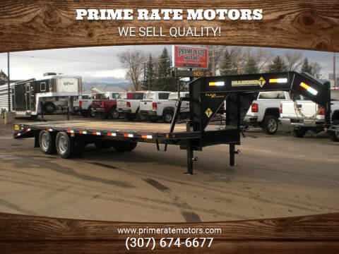 2021 Diamond-T 20+5 FLATBED TRAILER for sale at PRIME RATE MOTORS in Sheridan WY