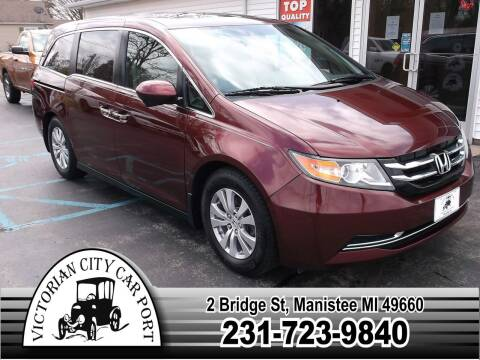 2016 Honda Odyssey for sale at Victorian City Car Port INC in Manistee MI