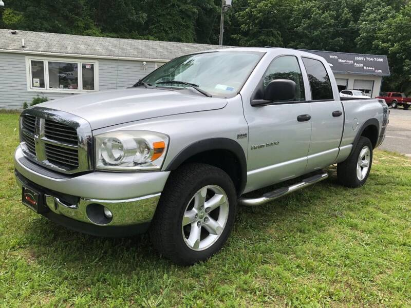 2007 Dodge Ram Pickup 1500 for sale at Manny's Auto Sales in Winslow NJ