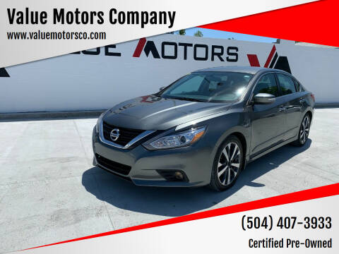 2017 Nissan Altima for sale at Value Motors Company in Marrero LA