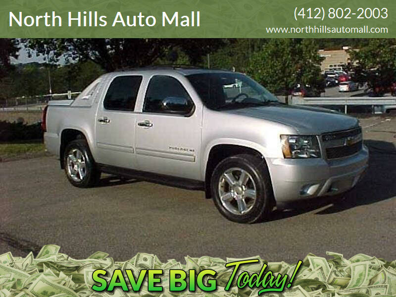 2012 Chevrolet Avalanche for sale at North Hills Auto Mall in Pittsburgh PA