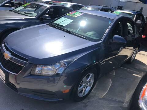2014 Chevrolet Cruze for sale at Excelsior Motors , Inc in San Francisco CA