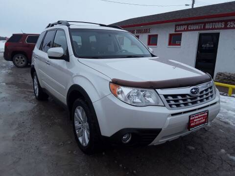 2011 Subaru Forester for sale at Sarpy County Motors in Springfield NE