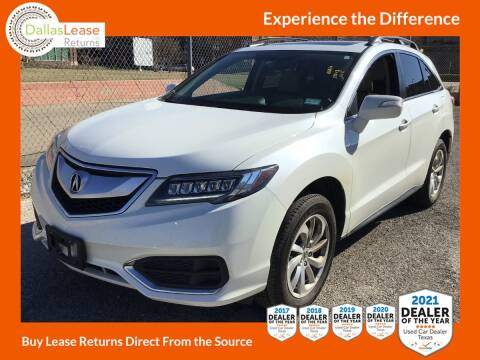2017 Acura RDX for sale at Dallas Auto Finance in Dallas TX