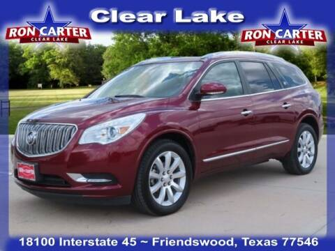 2017 Buick Enclave for sale at Ron Carter  Clear Lake Used Cars in Houston TX