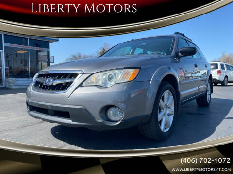 2009 Subaru Outback for sale at Liberty Motors in Billings MT