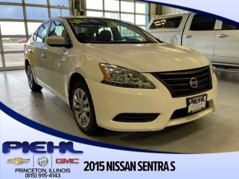 2015 Nissan Sentra for sale at Piehl Motors - PIEHL Chevrolet Buick Cadillac in Princeton IL