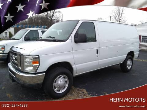 2013 Ford E-Series Cargo for sale at Hern Motors - 2021 BROOKFIELD RD Lot in Hubbard OH