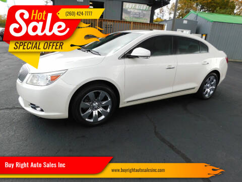 2012 Buick LaCrosse for sale at Buy Right Auto Sales Inc in Fort Wayne IN