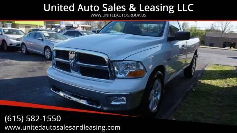 2011 RAM Ram Pickup 1500 for sale at United Auto Sales & Leasing LLC in La Vergne TN