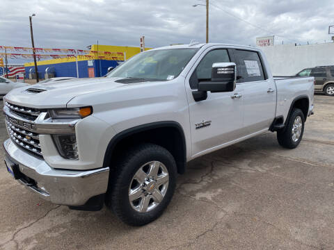 2021 Chevrolet Silverado 2500HD for sale at Gabes Auto Sales in Odessa TX