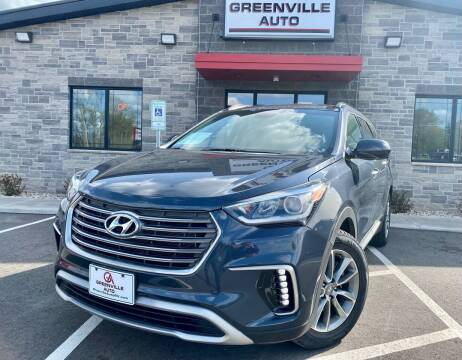 2018 Hyundai Santa Fe for sale at GREENVILLE AUTO in Greenville WI