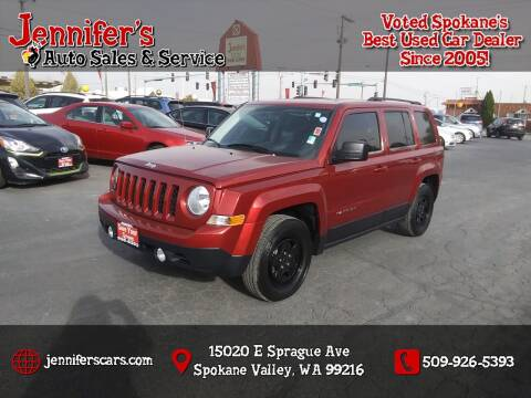 2014 Jeep Patriot for sale at Jennifer's Auto Sales in Spokane Valley WA