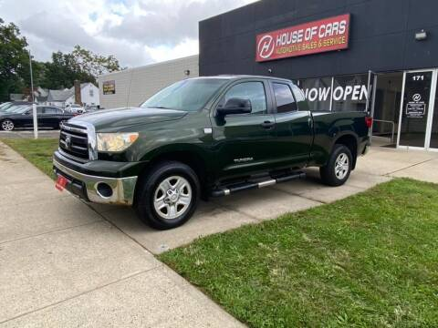 2010 Toyota Tundra for sale at HOUSE OF CARS CT in Meriden CT