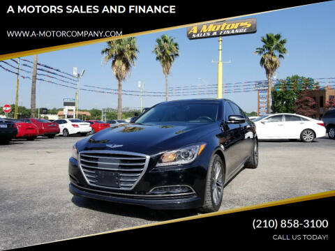 2015 Hyundai Genesis for sale at A MOTORS SALES AND FINANCE in San Antonio TX
